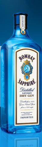 Bombay SapphireBottle