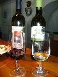 Wine from Moraitis Winery on Paros.